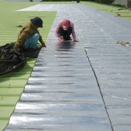 Tấm dán chống dột mái tôn khổ rộng 1 mét